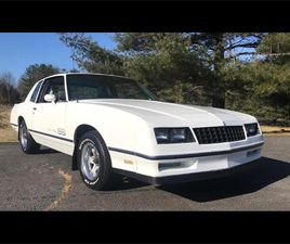 FOR SALE: 1984 CHEVROLET MONTE CARLO IN HARPERS FERRY, WEST VIRGINIA