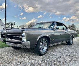 FOR SALE: 1966 PONTIAC GTO IN KNIGHTSTOWN, INDIANA