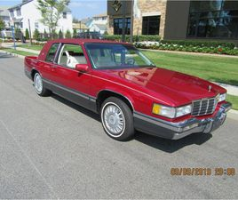FOR SALE AT AUCTION: 1991 CADILLAC DEVILLE IN CARLISLE, PENNSYLVANIA