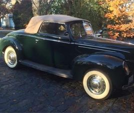 FOR SALE: 1939 FORD DELUXE IN CRYSTAL LAKE , ILLINOIS