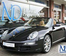 PORSCHE 997 911 CARRERA CABRIO NAVI PDC AUTOMATIK