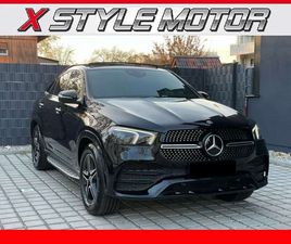MERCEDES-BENZ GLE 400 D 4M AMG COUPÈ+KEYLESS+TETTO+22+LED+4 ZONE+FULL