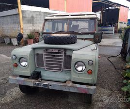 LAND ROVER 88 III SERIE - ANNO 1974