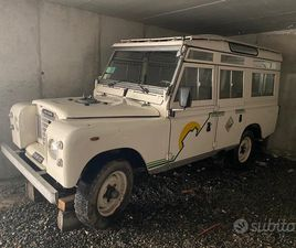 LAND ROVER 109 SERIE III - 1976