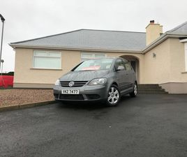 2008 VOLKSWAGEN GOLF PLUS 1.9TD SE PD (105PS) DSG - £3,650