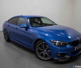 2017 BMW 4 SERIES 2.0TD 420D M SPORT (S/S) GRAN COUPE 5D AUTO - £18,995