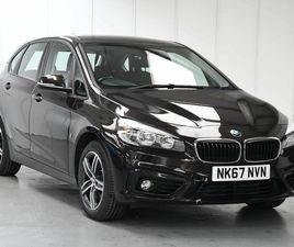 2017 BMW 2 SERIES 1.5 225XE PHEV SPORT - £16,985