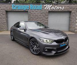 2018 BMW 4 SERIES 2.0TD 420D M SPORT (190BHP) (S/S) GRAN COUPE 5D AUTO - £18,995