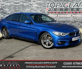 2015 BMW 4 SERIES 2.0TD 420D M SPORT (190BHP) (S/S) GRAN COUPE 5D AUTO - £15,250
