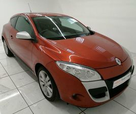 2010 RENAULT MEGANE 1.5TD I - MUSIC 1.5DCI (106BHP) COUPE 2D - £2,699