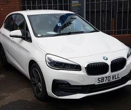 2021 BMW 2 SERIES 1.5 218I SPORT (134BHP) ACTIVE TOURER 5D DCT - £25,498