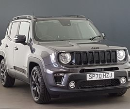 NEARLY NEW 2020 (70) JEEP RENEGADE 1.3 T4 GSE NIGHT EAGLE II 5DR DDCT IN AYR