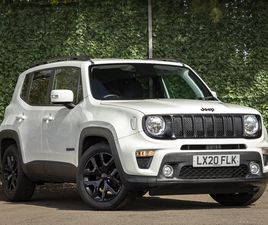 USED 2020 (20) JEEP RENEGADE 1.0 T3 GSE NIGHT EAGLE II 5DR IN AYR