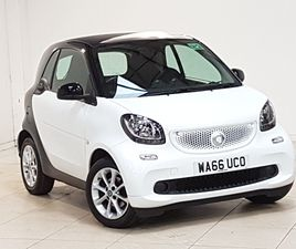 USED 2016 (66) SMART FORTWO COUPÉ 1.0 PASSION 2DR AUTO IN GLASGOW