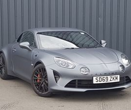 USED 2019 (69) ALPINE A110 1.8L TURBO 292 S 2DR DCT IN GLASGOW