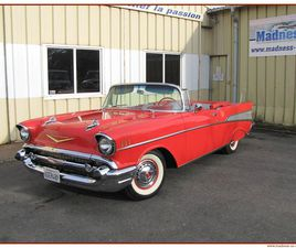 CHEVROLET BEL AIR CABRIOLET V8 - 283 CI (4,6 L) - 162 CHEVAUX