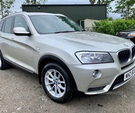 USED 2011 BMW X3 XDRIVE20D SE AUTO NOT SPECIFIED 82,000 MILES IN SILVER FOR SALE | CARSITE