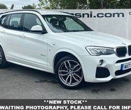 USED 2017 BMW X3 XDRIVE 30D M SPORT AUTO 3.0 255 BHP **OVER 100 VEHICLES IN STOCK** ESTATE