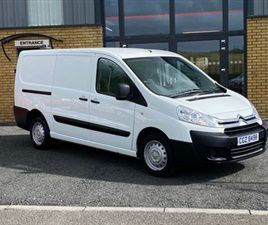 USED 2016 CITROEN DISPATCH 1200 L2H1 EN-RIS NOT SPECIFIED 49,000 MILES IN WHITE FOR SALE |