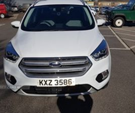 USED 2017 FORD KUGA TITANIUM TDCI NOT SPECIFIED 56,000 MILES IN WHITE FOR SALE | CARSITE