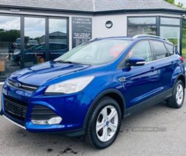 USED 2015 FORD KUGA ZETEC TDCI NOT SPECIFIED 39,000 MILES IN BLUE FOR SALE | CARSITE