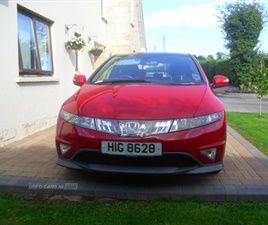 USED 2008 HONDA CIVIC TYPE-S GT I-CTDI HATCHBACK 115,000 MILES IN RED FOR SALE | CARSITE