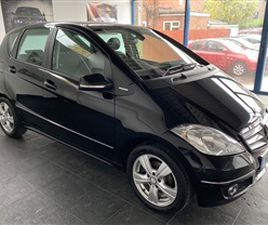 USED 2012 MERCEDES-BENZ A CLASS A180 CDI AVANTGARDE SE HATCHBACK 74,000 MILES IN BLACK FOR