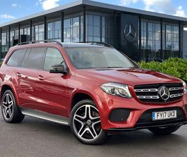 USED 2017 MERCEDES-BENZ GL CLASS GLS 350D 4MATIC DESIGNO LINE 5DR 9G-TRONIC AUTO NOT SPECI