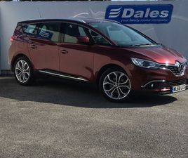 USED 2019 RENAULT GRAND SCENIC 1.7 BLUE DCI 120 ICONIC 5DR MPV 1,938 MILES IN CARMIN RED F