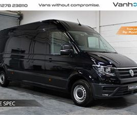 USED 2017 VOLKSWAGEN CRAFTER CR35 TDI L H-R P-V HIGHLINE NOT SPECIFIED 94,000 MILES IN BLA