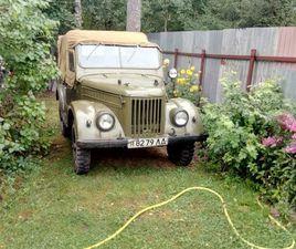 ГАЗ 69 1 ПОКОЛЕНИЕ 2.1 MT 4WD (65 Л.С.) 1965Г ЗА 450 ТЫС РУБ В САНКТ-ПЕТЕРБУРГЕ