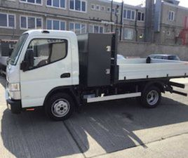 NEW FUSO CANTER TIPPER WITH STORAGE BOX FOR SALE IN WESTMEATH FOR € ON DONEDEAL