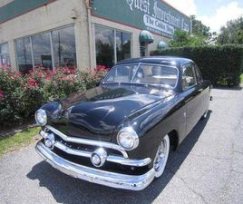 1951 FORD DELUXE DELUXE V-8 2 DOOR BUSINESS COUPE (72C)