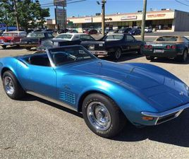 FOR SALE: 1970 CHEVROLET CORVETTE IN STRATFORD, NEW JERSEY