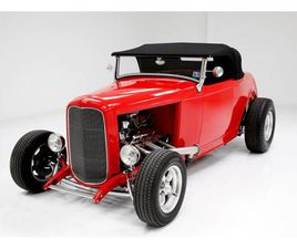 FOR SALE: 1932 FORD ROADSTER IN MORGANTOWN, PENNSYLVANIA