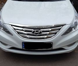 HYUNDAI SONATA 2.4 MPI AT (178 Л.С.) PRESTIGE+NAVI 2013