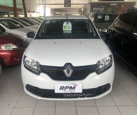 RENAULT LOGAN 1.0 12V SCE FLEX AUTHENTIQUE MANUAL - R$ 37.990,00