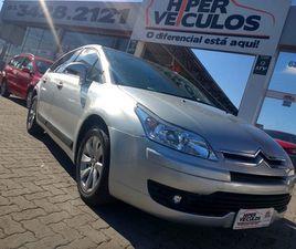 CITROËN C4 2.0 EXCLUSIVE 16V FLEX 4P AUTOMÁTICO - R$ 34.900,00