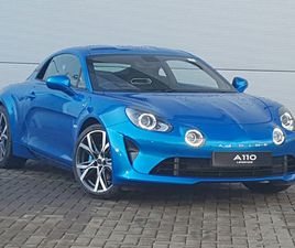 BRAND NEW ALPINE A110 1.8L TURBO LEGENDE 2DR DCT