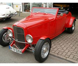 FORD HOT ROD CABRIO BUILD BY FAMOUS RANDY CLARK CA