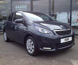 PEUGEOT 108 ALLURE 1.0 VTI PETROL 72BHP FOR SALE IN WEXFORD FOR € ON DONEDEAL