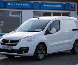 PEUGEOT PARTNER 1.6 BLUEHDI PROFESSIONAL 2018 FOR SALE IN SLIGO FOR €12000 ON DONEDEAL