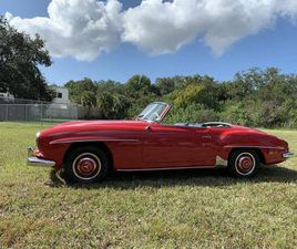 1961 MERCEDES-BENZ 190SL CONVERTIBLE WITH HARD TOP. CLASS EXCELLENT
