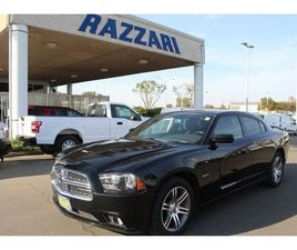 BLACK COLOR 2012 DODGE CHARGER R/T FOR SALE IN MERCED, CA 95340. VIN IS 2C3CDXCT4CH178420.