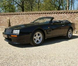 ASTON MARTIN VIRAGE VOLANTE ONLY 224 MADE, FULLY DOCUMENTED,