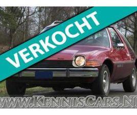 AMC PACER 1977 6 CYLINDER 4229 CC 110 HP X-TYPE UIT 01-01-1977 AANGEBODEN DOOR KENNISCARS