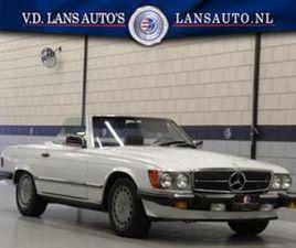MERCEDES-BENZ SL-KLASSE 560 CABRIOLET AUTOMAAT UIT 1986 AANGEBODEN DOOR VAN DER LANS AUTO'