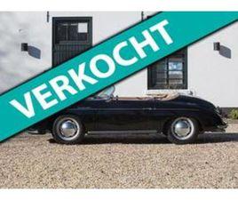 PORSCHE 356 SPEEDSTER REUTTER COACHWORK UIT 17-06-1966 AANGEBODEN DOOR VAN EIJKELENBURG EX