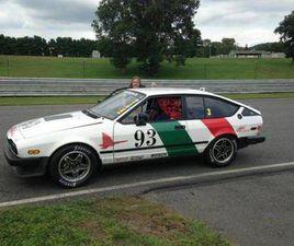 1986 ALFA ROMEO GTV6 IMSA FIREHAWK, 3 RACE CAR PACKAGE