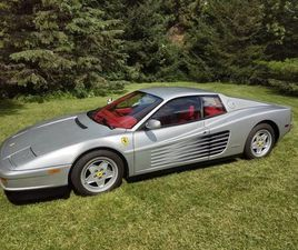 1990 FERRARI TESTAROSSA FOR SALE
